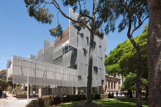 University of Melbourne, School of Design, Melbourne, Australia, 2014